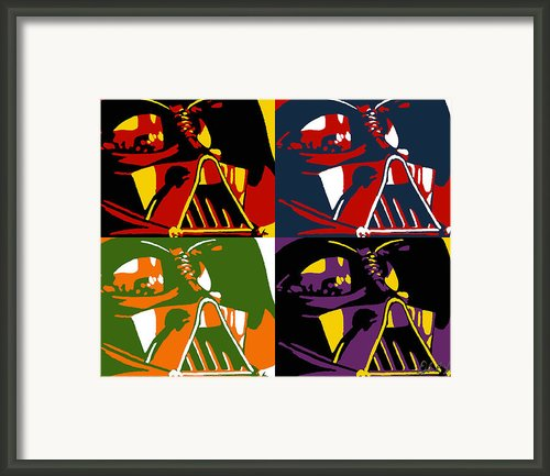 Pop Art Vader Framed Print By Dale Loos Jr