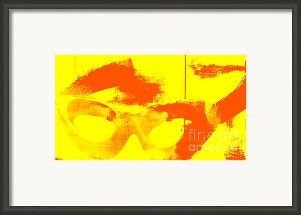 Pop Art Vintage Glasses  Framed Print By Adspice Studios