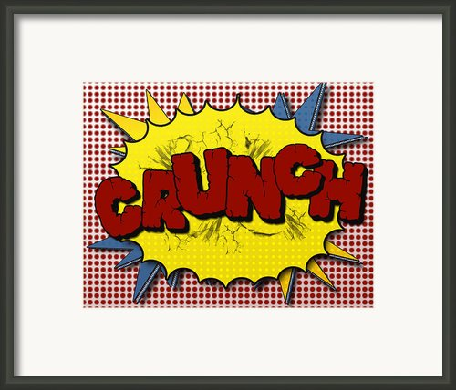 Pop Crunch Framed Print By Suzanne Barber