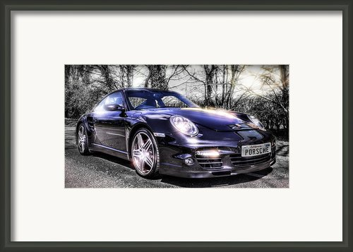Porsche Framed Print By Ian Hufton