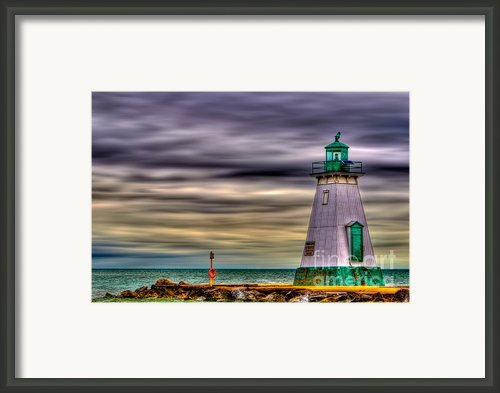 Port Dalhousie Lighthouse Framed Print By Jerry Fornarotto