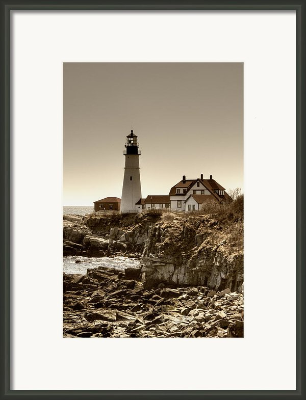 Portland Head Lighthouse Framed Print By Joann Vitali