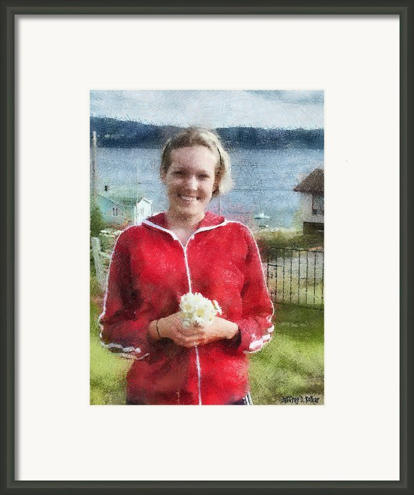 Portrait In Newfoundland Framed Print By Jeff Kolker