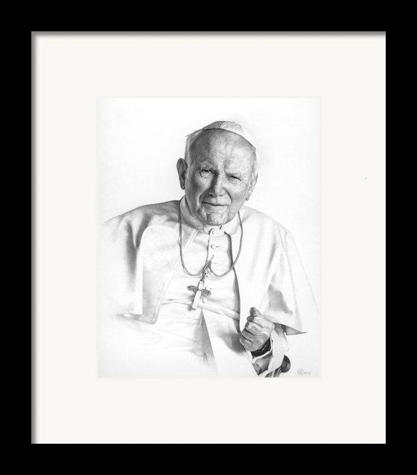 Portrait Of A Saint Framed Print By Smith Catholic Art