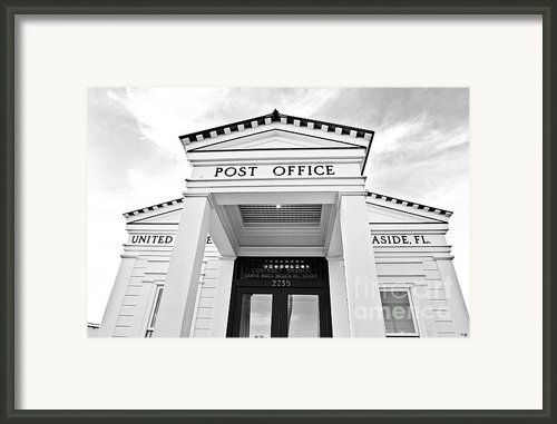 Post Office Framed Print By Scott Pellegrin