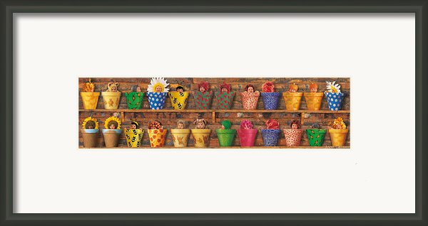 Potting Shed Framed Print By Anne Geddes