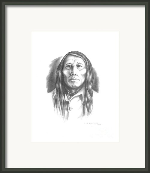 Poundmaker Framed Print By Lee Updike