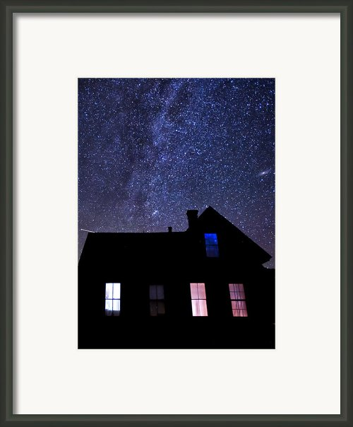 Pour In The Light Framed Print By Cat Connor