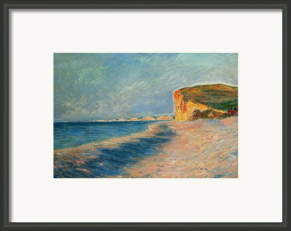 Pourville Near Dieppe Framed Print By Claude Monet