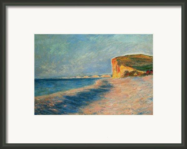 Pourville Near Dieppe Framed Print By Claude Monet