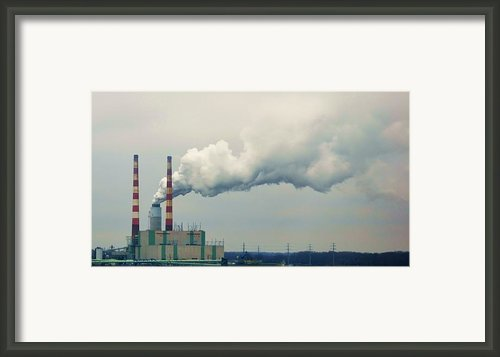 Power Framed Print By Mary Zeman