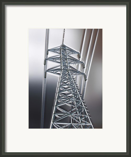 Power Station - Cool Framed Print By Wendy J St Christopher