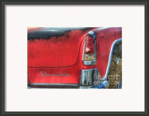 Powerflite Framed Print By Bob Christopher
