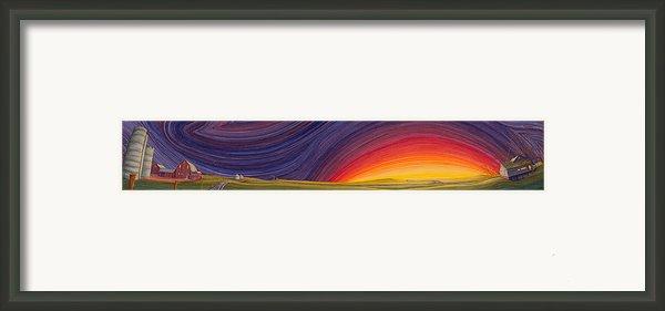 Powhatten Ii Framed Print By Scott Kirby