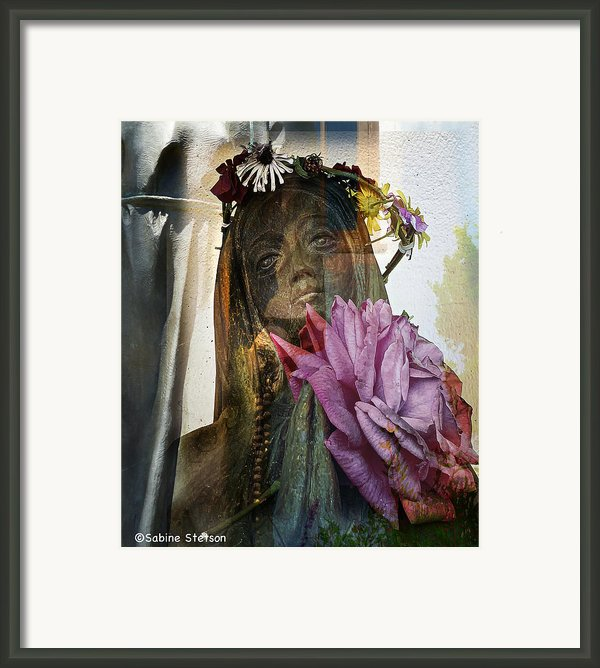 Prayer Framed Print By Sabine Stetson