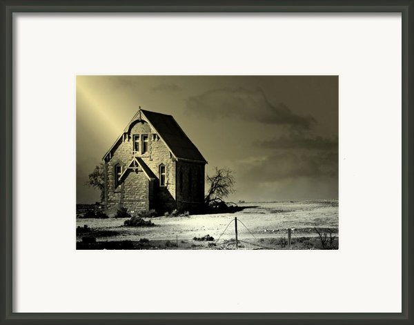 Praying For Rain Framed Print By Holly Kempe