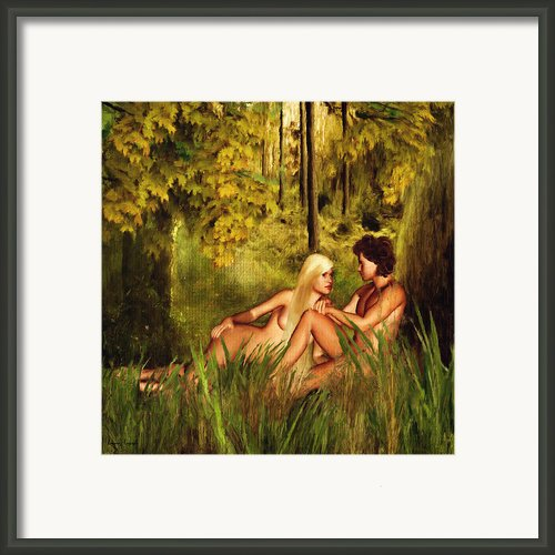 Pre-consciousness Framed Print By Lourry Legarde