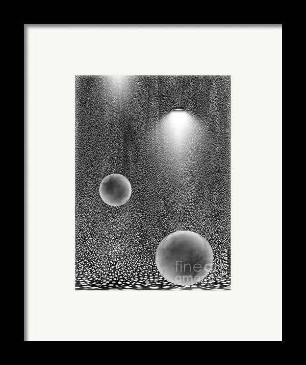 Preferences - Abstract Art By Giada Rossi Framed Print By Giada Rossi