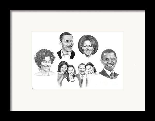 Presidential Framed Print By Murphy Elliott