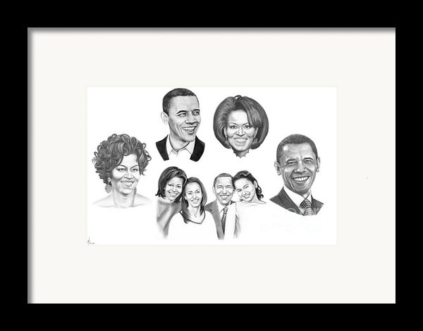 Presidential Framed Print By Murphy Elliott