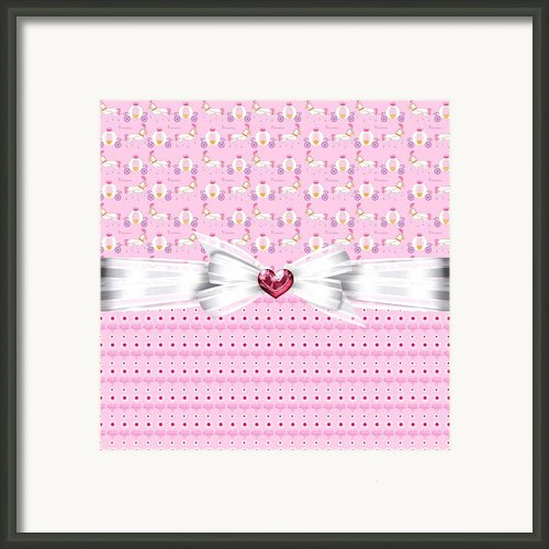 Pretty Pink Princess Framed Print By Debra  Miller