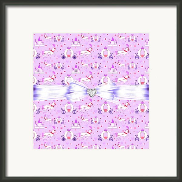 Princess Celebration Framed Print By Debra  Miller