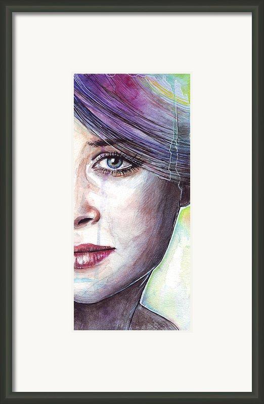 Prismatic Visions Framed Print By Olga Shvartsur