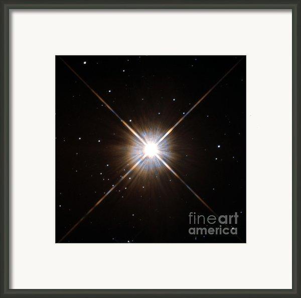 Proxima Centauri Framed Print By Science Source