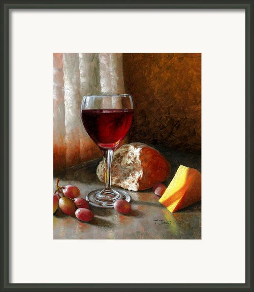 Psalm 104 Framed Print By Timothy Jones
