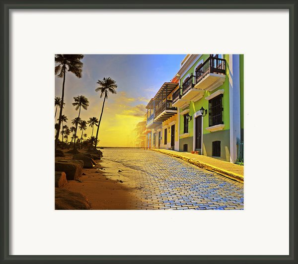 Puerto Rico Collage 2 Framed Print By Stephen Anderson