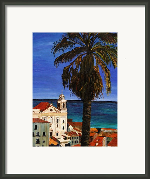 Puerto Rico Old San Juan Framed Print By Gregory Allen Page