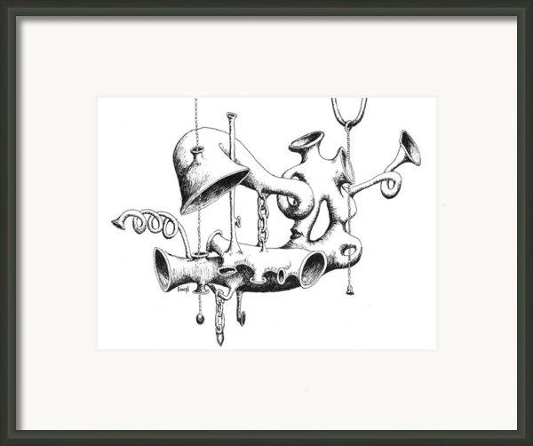Pull My Chain Sweetheart Framed Print By Sam Sidders