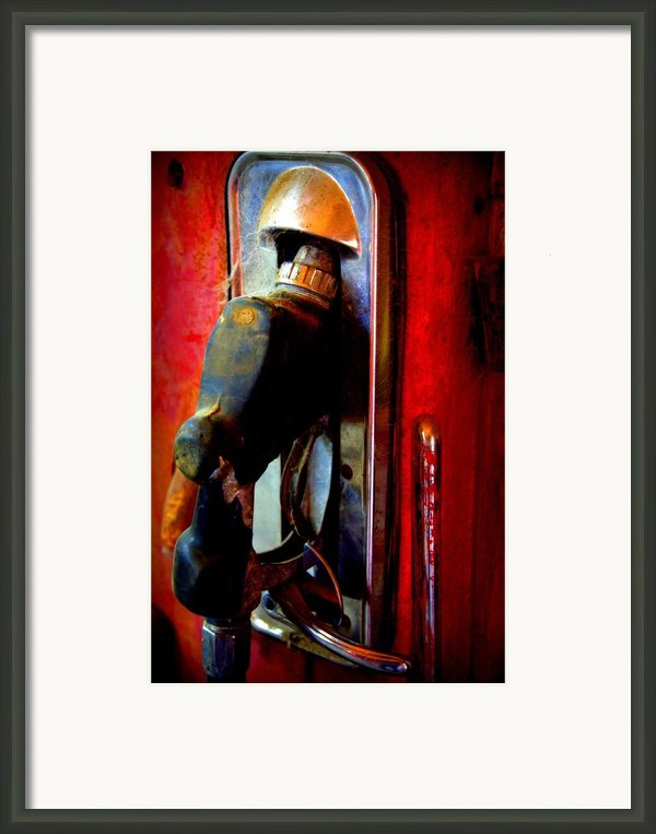 Pump Up The Vintage Framed Print By Karen Wiles