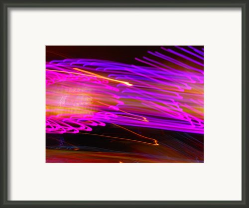 Purple Storm Framed Print By James Welch