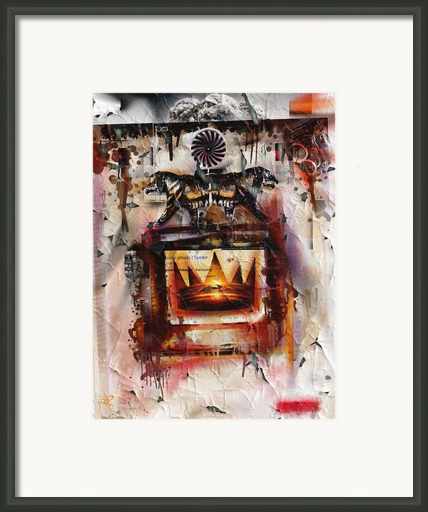 Push And Pull Framed Print By Russell Pierce