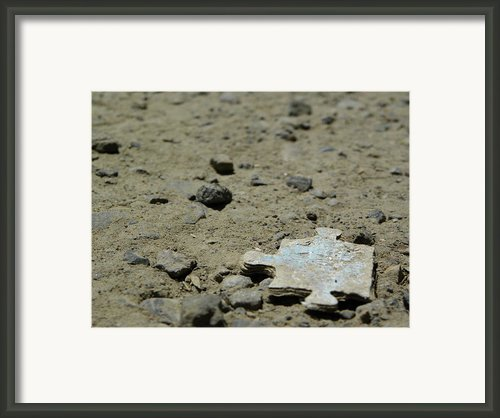 Puzzled Piece Framed Print By Jonathon Sitton