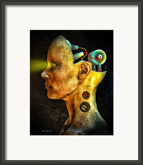 Pythia Framed Print By Bob Orsillo