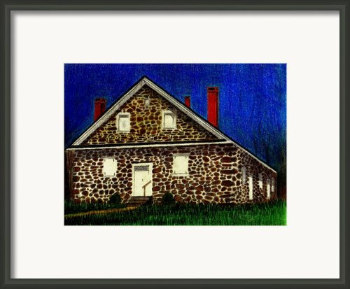 Quaker Building Framed Print By Kori Vincent