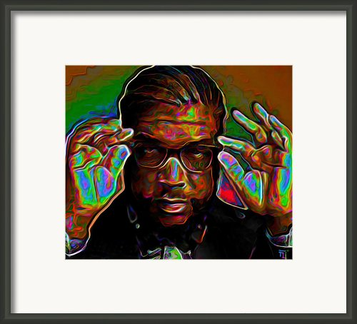 Questlove Framed Print By Byron Fli Walker