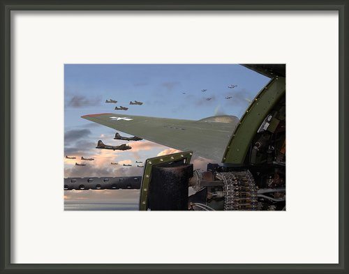 Quiet Before The Storm Framed Print By Pat Speirs