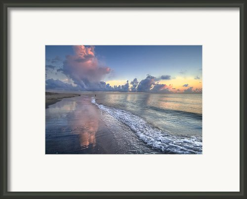 Quiet Morning Framed Print By Debra And Dave Vanderlaan