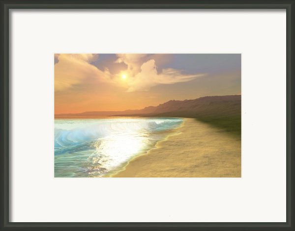 Quiet Places Framed Print By Corey Ford