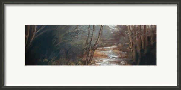 Quietude Framed Print By Grace Keown