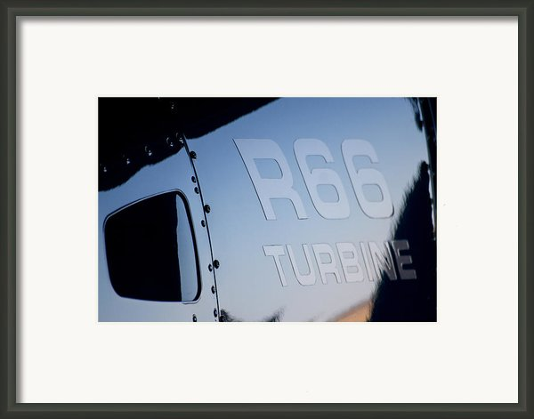 R66 Reflection Framed Print By Paul Job