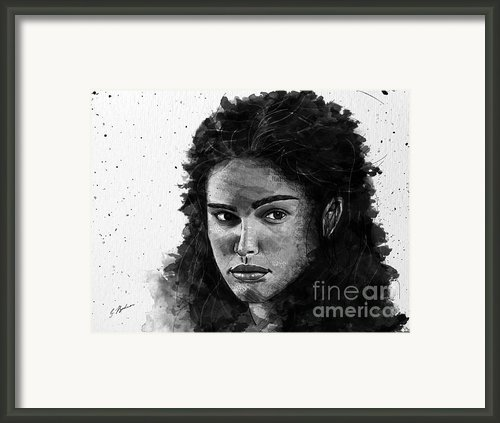 Rachel In Waiting Framed Print By Gary Bodnar