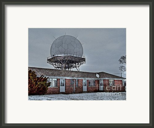 Radar Row Framed Print By Mj Olsen