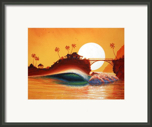 Rainbow Bridge Framed Print By Patrick Parker