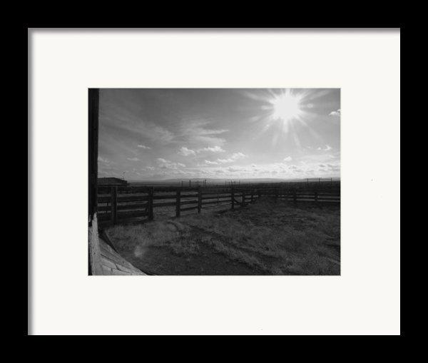 Rancho Colorado Framed Print By Anna Villarreal Garbis