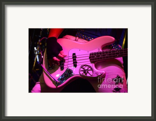 Raunchy Guitar Framed Print By Bob Christopher