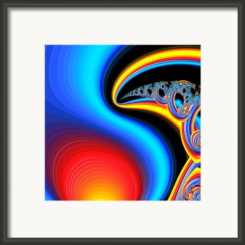 Raven Dreaming By The Fire Framed Print By Wendy J St Christopher